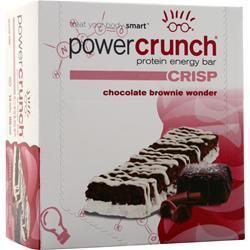 Power Crunch Power Crunch Crisp Bar Chocolate Brownie Wonder 12 bars