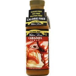 Walden Farms Caramel Syrup 12 fl.oz