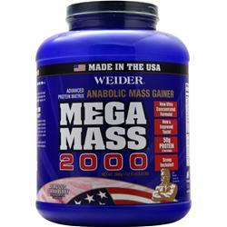 Weider Mega Mass 2000 Delicious Strawberry 8.6 lbs
