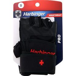 Harbinger Pro Wristwrap Glove Black (S) 2 glove