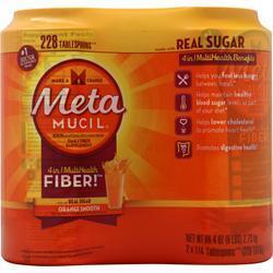 Metamucil Metamucil Orange 6 lbs