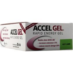 Pacific Health Accel Gel Key Lime 24 pckts