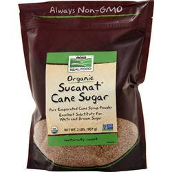 Now Sucanat (Granulated Cane) 2 lbs