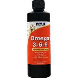 Now Omega 3-6-9 Liquid 16 fl.oz
