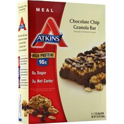 Atkins Meal Bar Chocolate Chip Granola 8 bars
