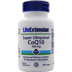 Life Extension Super Ubiquinol CoQ10 (100mg) 60 sgels