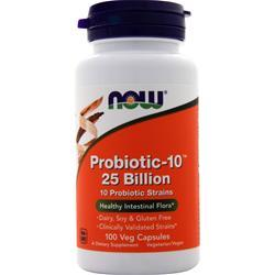 Now Probiotic-10 (25 Billion) 100 vcaps