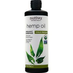 Nutiva Organic Hemp Oil Liquid 24 fl.oz