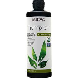Nutiva Organic Hemp Oil Liquid 24 fl.oz