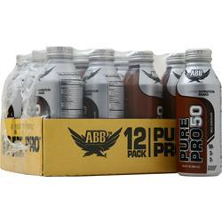 American Bodybuilding Pure Pro 50 RTD (14.5 fl.oz) Milk Chocolate 12 cans