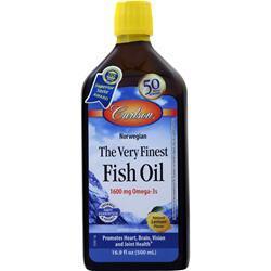 Carlson The Very Finest Fish Oil Liquid Lemon 500 mL