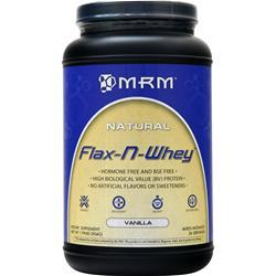 MRM 100% All Natural Flax-N-Whey Vanilla Nut 1.99 lbs
