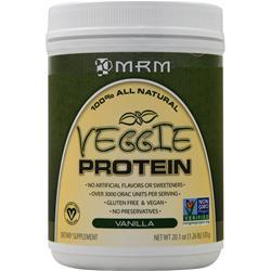 MRM Veggie Protein - 100% All Natural Vanilla 1.26 lbs