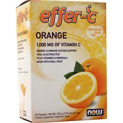 Now Effer-C Orange 30 pckts