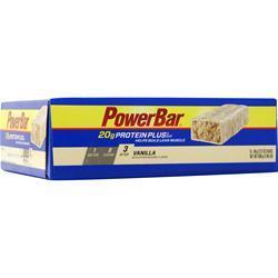 PowerBar Protein Plus Bar Vanilla 15 bars