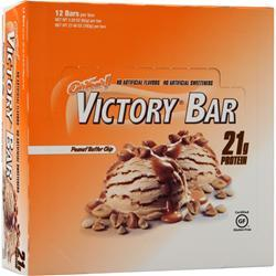 ISS Research Oh Yeah! Victory Bar Peanut Butter Chip 12 bars