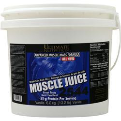 Ultimate Nutrition Muscle Juice 2544 Weight Gain Drink Mix Vanilla 13.2 lbs