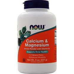 Now Calcium & Magnesium 8 oz