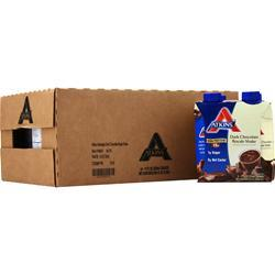 Atkins Ready To Drink Shake (RTD Tetra-Can) Dark Chocolate Royale 24 cans