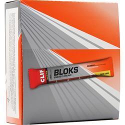Clif Bar Clif Shot Bloks Orange with Caffeine 18 pckts