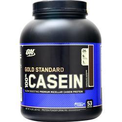 Optimum Nutrition 100% Gold Standard Casein Protein Chocolate Supreme 4 lbs