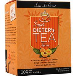 Laci Le Beau Super Dieter's Tea Cleanse Apricot 60 pckts
