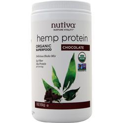 Nutiva Organic Hemp Shake Chocolate 16 oz