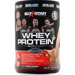 Six Star Pro Nutrition Whey Protein Plus Elite Series Triple Chocolate 2 lbs