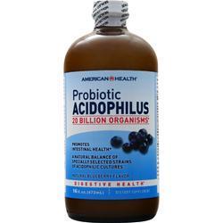 American Health Probiotic Acidophilus (Liquid) Blueberry 16 fl.oz