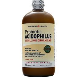 American Health Probiotic Acidophilus (Liquid) Plain 16 fl.oz