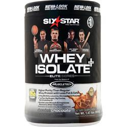 Six Star Pro Nutrition Professional Strength Whey Isolate Elite Series Decadent Chocolate 1.5 lbs