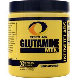 Infinite Labs Glutamine MTX Powder 8.8 oz