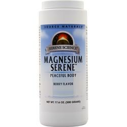 Source Naturals Magnesium Serene Berry Flavor 17.6 oz