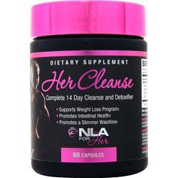NLA For Her Her Cleanse 60 caps