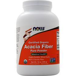 Now Organic Acacia Fiber 12 oz