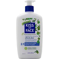 Kiss My Face Ultra Moisturizer Fragrance Free 16 fl.oz