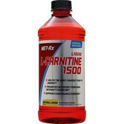 Met-Rx L-Carnitine 1500 Natural Lemon 16 fl.oz