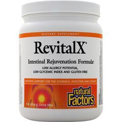 Natural Factors RevitalX Intestinal Rejuvenation Formula 1 lbs