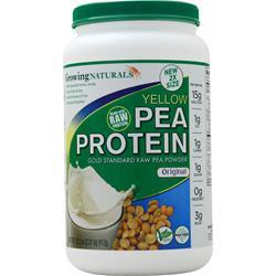 Growing Naturals Raw Yellow Pea Protein Original 912 grams