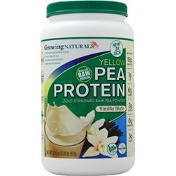 Growing Naturals Raw Yellow Pea Protein Vanilla Blast 950 grams