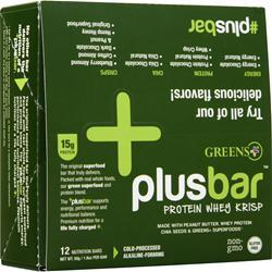 Greens Plus Plus Bar Protein Whey Krisp 12 bars