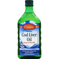 Carlson Norwegian Cod Liver Oil Liquid On Sale At
