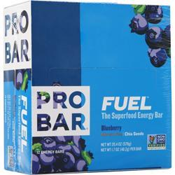 Pro Bar Fuel - the Superfood Energy Bar Blueberry 12 bars