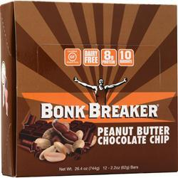 Bonk Breaker Energy Bar Peanut Butter & Chocolate 12 bars