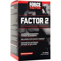 Force Factor Factor 2 120 caps