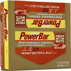 PowerBar Performance Energy Bar Peanut Butter & Jelly 12 bars
