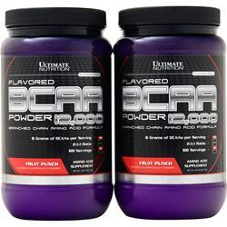 Ultimate Nutrition BCAA Powder 12,000 (Buy 1 get 1 Free) Fruit Punch 914 grams