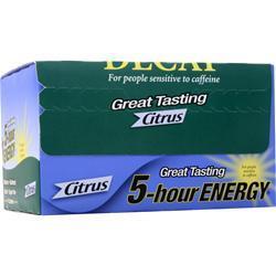 5 Hour Energy 5-Hour Energy - Decaf Citrus 12 bttls