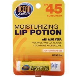 Ocean Potion Moisturizing Lip Potion with Aloe Vera SPF 45 .15 oz