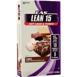 EAS Lean 15 Bar S'Mores 12 bars